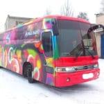 оформление переоборудования автобуса